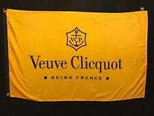 Veuve Clicquot Flag Banner - advertising banner wine champagne store dealer bar