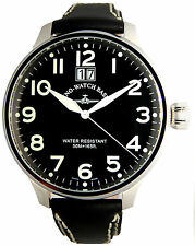 Industrial nuevecito Zeno watch superoversized Big date-Quartz -