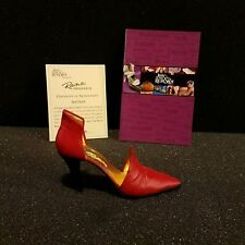 Just The Right Shoe by Raine Willitts Red Devil 25082 Nib collectables