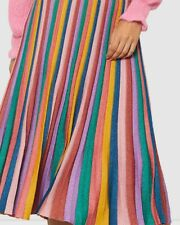 "Amazing GORMAN ""Rainbow"" 🌈 Pleat skirt * size 12"