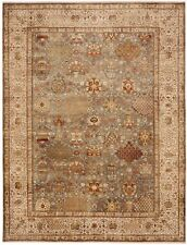 """Hand-knotted fine indian rug. 9'x 11'10"""""""