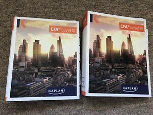 Kaplan CFA Level 3 Full Course 2018 Slide Pack and Notes - 2 Folders