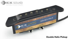 K&K Double Helix acoustic guitar soundhole pickup