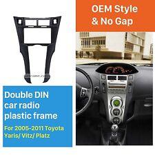Car Radio Stereo Fascia Dash Panel Frame Kit 2DIN for Toyota Yaris Vitz Platz