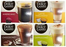 Nescafe Dolce Gusto 4 Flavour Variety Pack (64 Capsules) Boxed