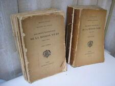 NIGER TCHAD / Documents scientifiques de la Mission Tilho 1906-1909 Afrique