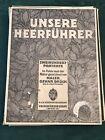UNSERE HEERFUHRER 1915 GERMAN WWI MILITARY OFFICERS 160 PRINTS OSKAR BRUCH