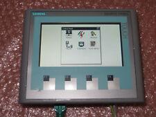"""Siemens KTP400 6AV6 647-0AK11-3AX0 Basic Color PN 4"""" Touch Panel, Nice Used"""