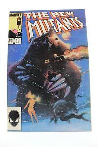 New Mutants (1983) #19 1st Print 2nd Demon Bear Bill Sienkiewicz Cover/Art VF/NM