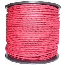 1m Algodón Trenzado Eléctrico Del Automóvil Cable calibre 18 rojo y negro