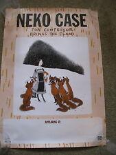 Neko Case - Fox Confessor Brimgs The Flood - PROMO POSTER