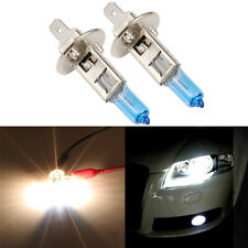 2x H1 6000K HID Xenon White Fog Light Headlight High Beam DRL Halogen Bulbs Kit