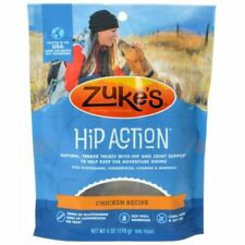 LM Zukes Hip Action Hip & Joint Supplement Dog Treat - Roasted Chicken Recipe 6