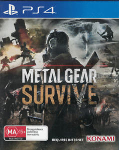 Metal Gear Survive, Playstation 4, PS4 game Complete, Used