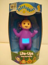 Teletubbies Lite-Ups Tinky Winky Purple NIB Works 1998 Applause