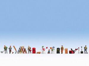 Winter's Jour à Thème Ensemble Figurine Noch 16220
