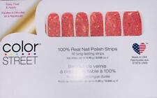 Color Street 100% Nail Polish Strips Variety Best Colors Solids Glitter Retired