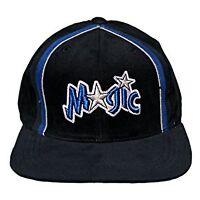 Orlando Magic Sports Specialties Vintage Adjustable Snapback Hat Cap - Black