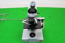Leitz Wetzlar Sm-LUX Microscopio de laboratorio en gran orden de trabajo con objetivo 4