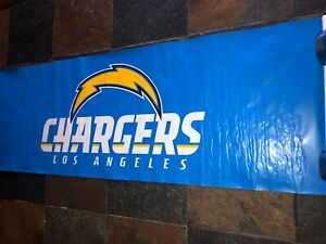 Los Angeles Chargers Spring Loaded, Lightweight Game Day Stadium Scroll Banner