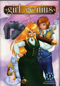 GIRL GENIUS Omnibus Edition (Manga size) • Kaja and Phil Foglio • SC • 2006
