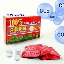 36pcs CO2 Tablets Carbon Dioxide For Plants Aquarium Plant Tank Diffuser # C1J1