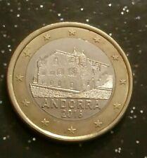 Piece rare 1€ Andorra 2016