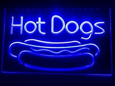 1 Pcs Hot Dog Dogs Cafe Lounge Lure Led Neon Light Sign