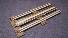 LEGO Eisenbahn alt 12V 1X gerade Schiene komplett Grau