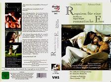 """VHS """" REQUIEM für eine romantische FRAU """" (1999) Sylvester Groth - Janina Sachau"""