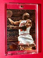 Michael Jordan RARE 95-96 FLEER METAL EMBOSSED BASKETBALL CARD - Mint Condition!
