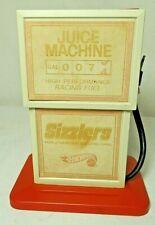 "1969 MATTEL HOT WHEELS SIZZLERS REDLINE ""JUICE MACHINE"" CAR CHARGER (6511-0110)"