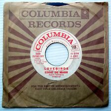 EDDIE DE MARR 1960 teen VG WHITE LABEL PROMO 45 LOVEBIRDS / I LOVE YOU  JR264