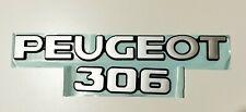 EX DISPLAY PEUGEOT 306 REAR BADGES