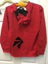 Angry Birds Hoodie Youth Boys Size Large