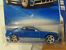 Hot Wheels 2010 Ford Mustang GT HW Garage Blue