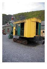 Ancienne pelle à vapeur jaune WALES photographique Epson imprimer uniquement (sans cadre)