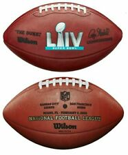 Super Bowl Liv (54) Wilson Official Leather Authentic Football - Chiefs 49ers