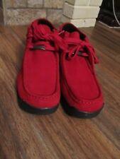 Buffalo London Boots Red Leather Size 9M EUC