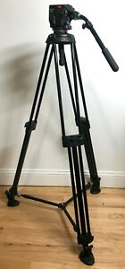 Manfrotto 503 tripod head with Manfrotto 546B legs and Soft Case