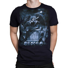 Liquid Blue R.I.P REAPER T-Shirt, sizes M - 4XL fantasy, goth, rock, metal,
