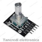 Modulo encoder rotativo con pulsante sensore shield KY-040 per arduino rotary
