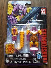 Transformers POTP Quintus Prime w/ BLUDGEON Pretender Armor, MOSC/New (2018)