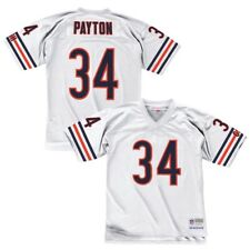 af458beefd3 Walter Payton 1985 Chicago Bears Mitchell & Ness Away White Replica Jersey  Men's L