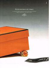 PUBLICITE ADVERTISING 094  1996  HERMES   COLLECTION bijoux  bague Agate
