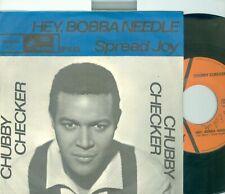 "CHUBBY CHECKER - HEY BOBBA NEEDLE ( DUTCH  CAMEO CP26415) 7""PS  1964"