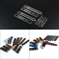 Transparent Acrylic Watch Strap Band Stencil Template DIY Leather Craft Too SJF