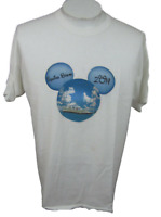 Disney Cruise T Shirt Mickey Ears 2014 Spring Break XL cotton white blue ship