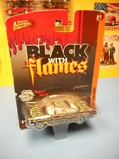 "Johnny Lightning 1959 Chevy Impala Black With Flames ""Nip"""
