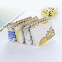 Mini Wallets Zippers Kids For Women Canvas Purse Coin Money Pouch Pocket Casual